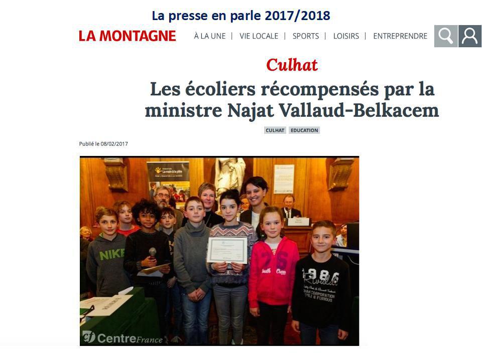 Article de presse école de Culhat_01