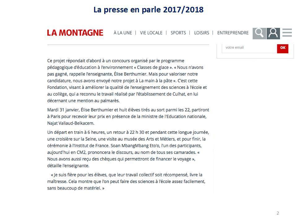 Article de presse école de Culhat_02